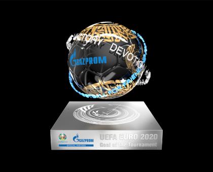 """Обложка к новости """"Первый NFT-трофей за лучший гол УЕФА ЕВРО 2020 вошел в историю мирового футбола"""""""